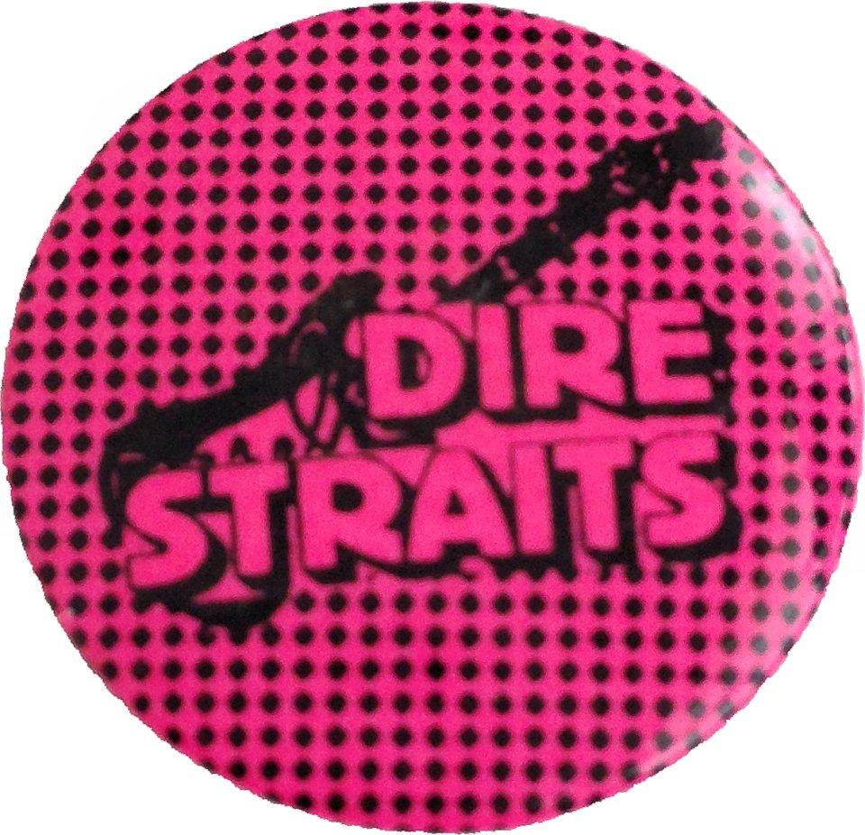 Dire Straits Pin