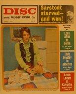 Disc and Music Echo Magazine March 1969 Magazine