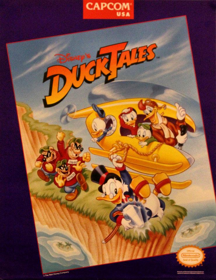 Disney's DuckTales - Nintendo NES Poster