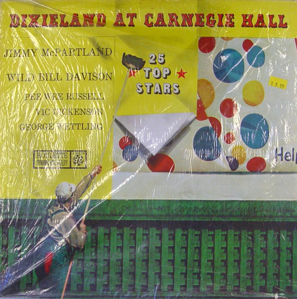 """Dixieland At Carnegie Hall Vinyl 12"""" (Used)"""