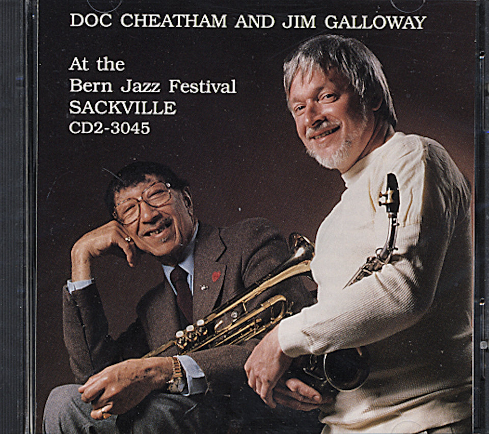 Doc Cheatham & Jim Galloway CD