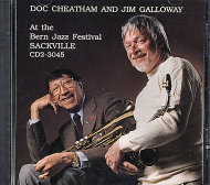 Doc Cheatham & Jim Galloway CD