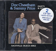 Doc Cheatham & Sammy Price CD