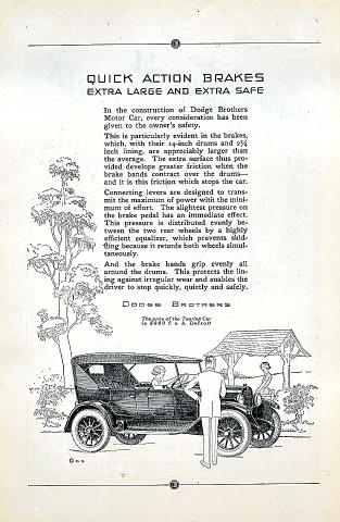 Dodge Brothers: Touring Vintage Ad