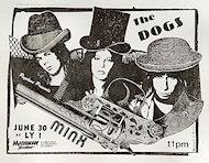 Dogs Handbill