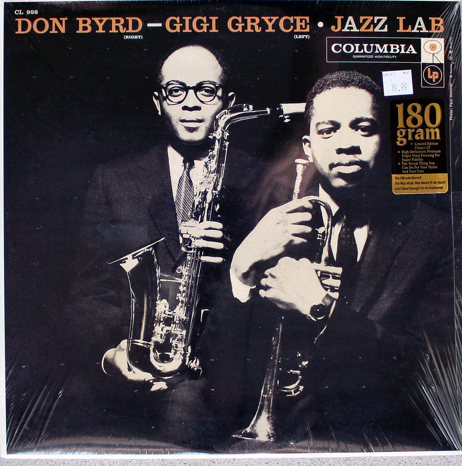 "Don Byrd / Gigi Gryce Vinyl 12"" (New)"