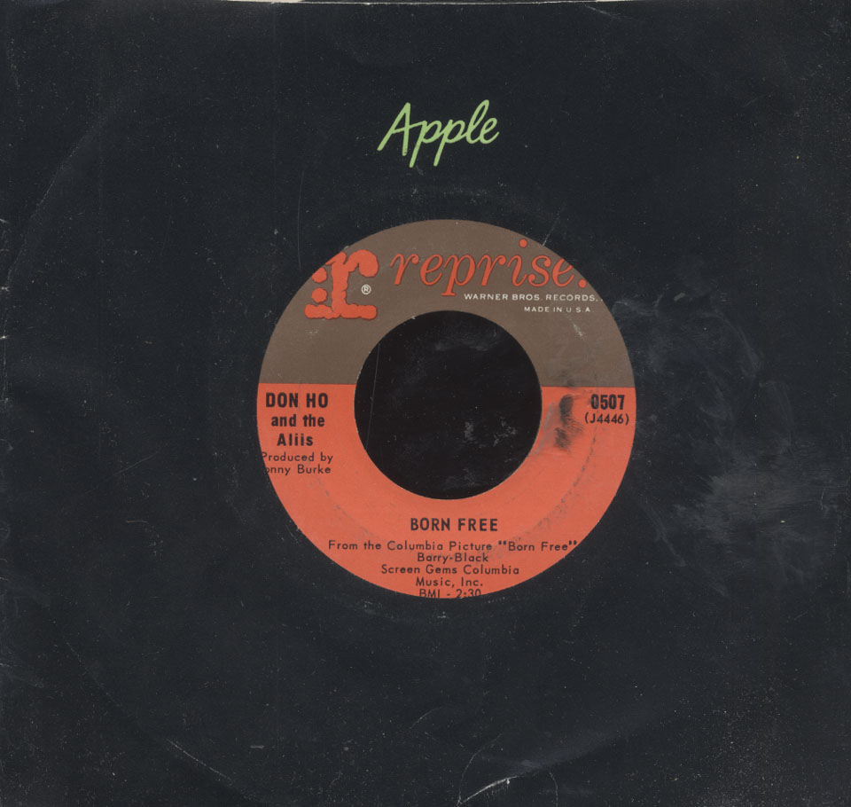"""Don Ho And The Aliis Vinyl 7"""" (Used)"""