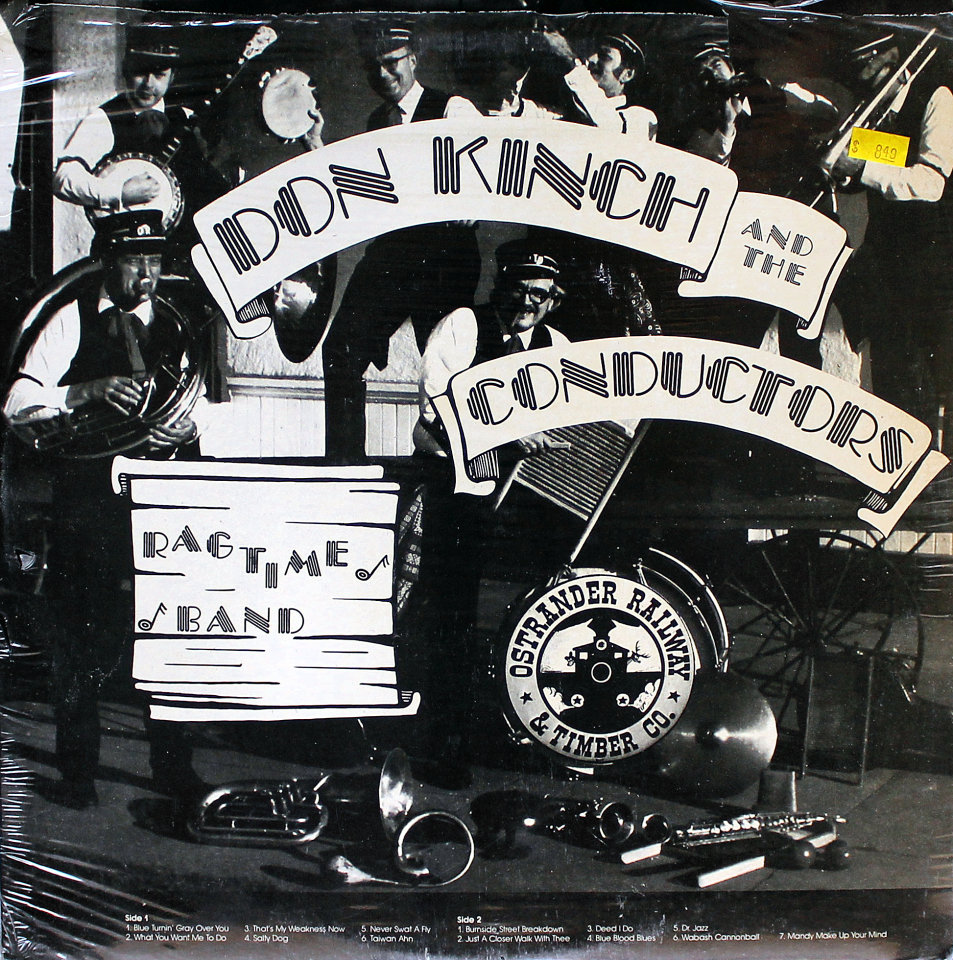 """Don Kinch And The Conductors Ragtime Band Vinyl 12"""" (New)"""