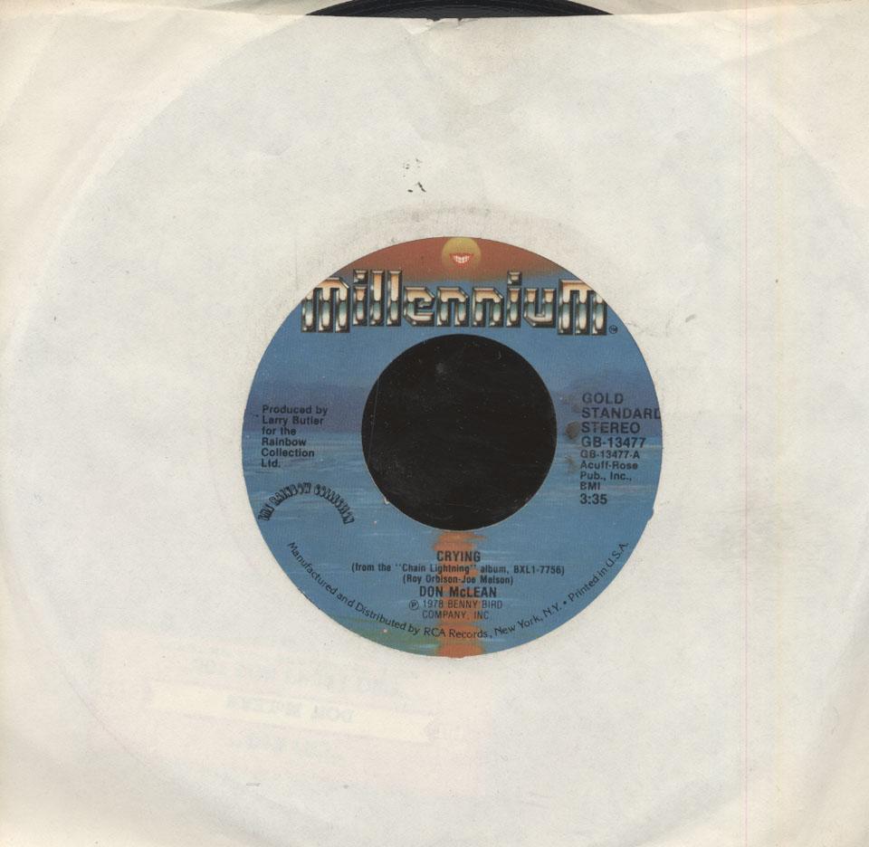 """Don McLean Vinyl 7"""" (Used)"""