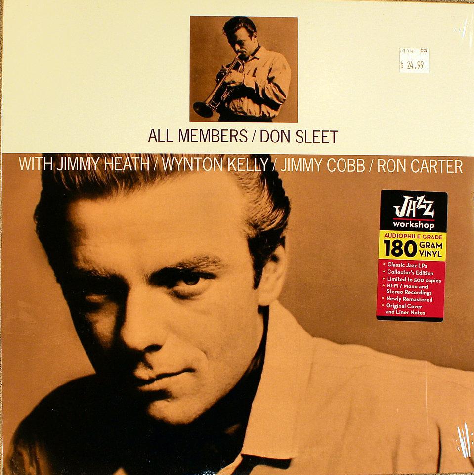 """Don Sleet Quintet Vinyl 12"""" (New)"""