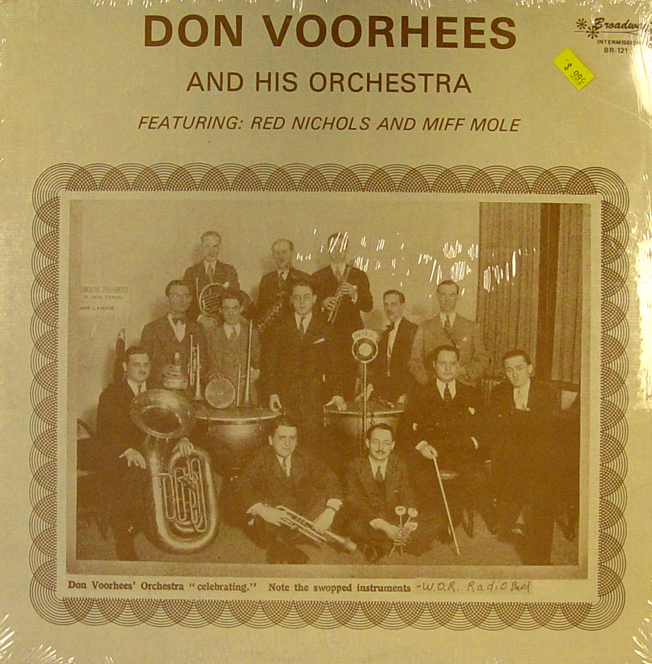 """Don Voorhees And His Orchestra Vinyl 12"""" (New)"""