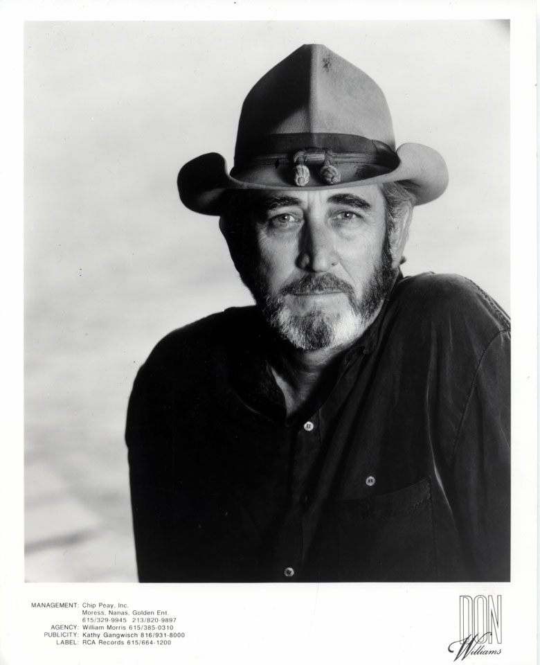 Don Williams Promo Print