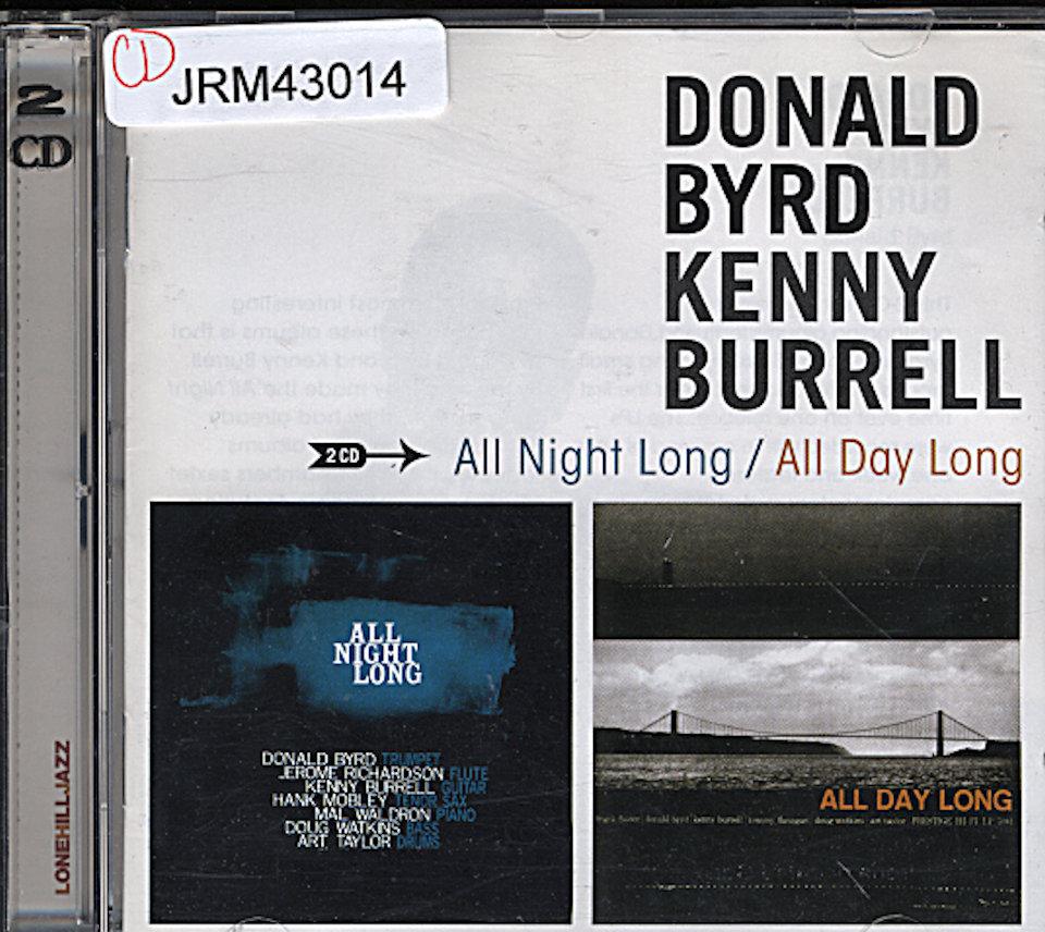Donald Byrd & Kenny Burrell CD