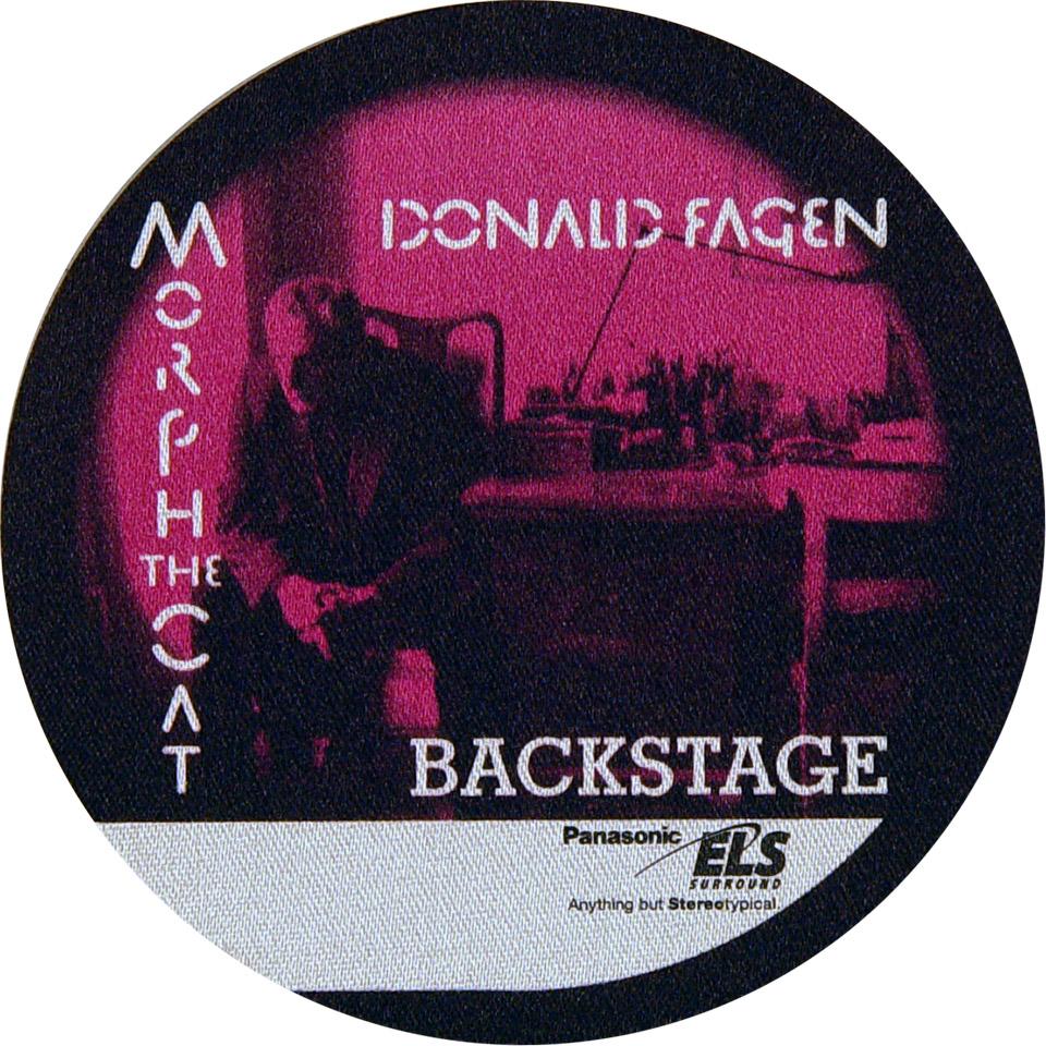 Donald Fagen Backstage Pass