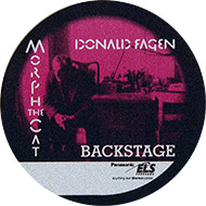 Donald Fagen Backstage Pass