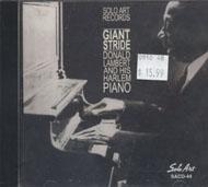 Donald Lambert And His Harlem Piano CD