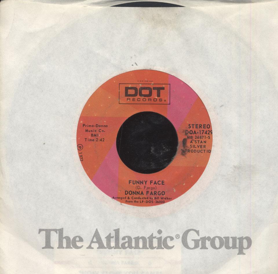 "Donna Fargo Vinyl 7"" (Used)"
