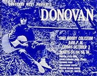 Donovan Handbill