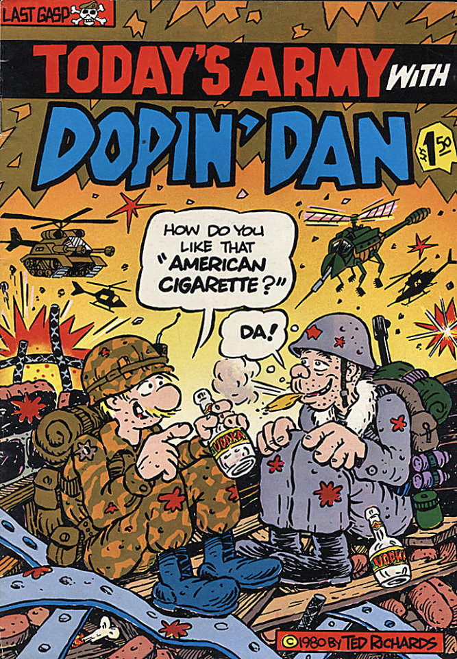 Dopin' Dan #4 Comic Book
