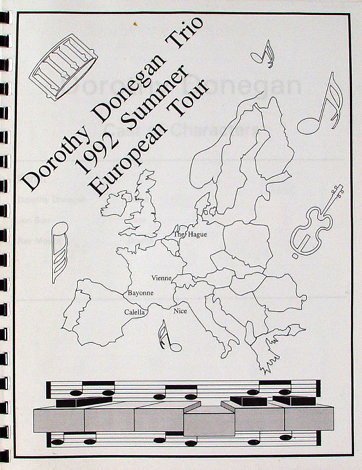 Dorothy Donegan Trio Program