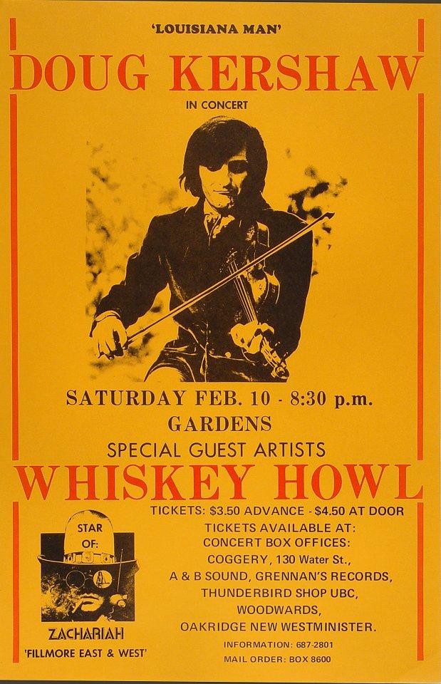 Doug Kershaw Poster