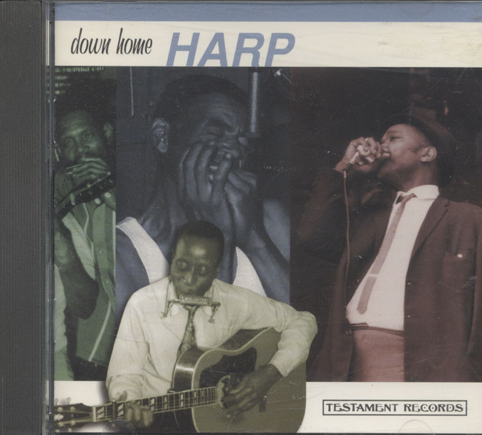 Down Home Harp CD