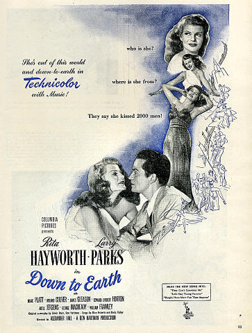 Down To Earth Vintage Ad