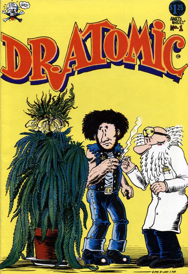 Dr. Atomic #1 Comic Book