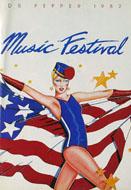 Dr. Pepper Music Festival Program