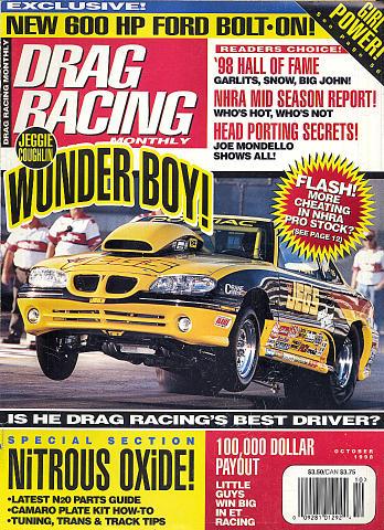 Drag Racing Monthly Vol. 35 No. 10 Magazine
