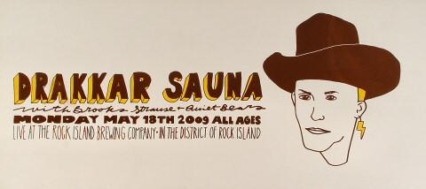 Drakkar Sauna Poster