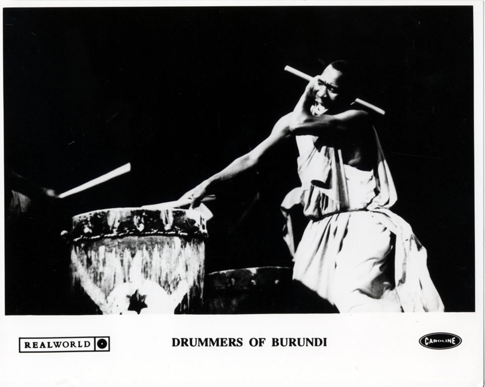 Drummers of Burundi Promo Print