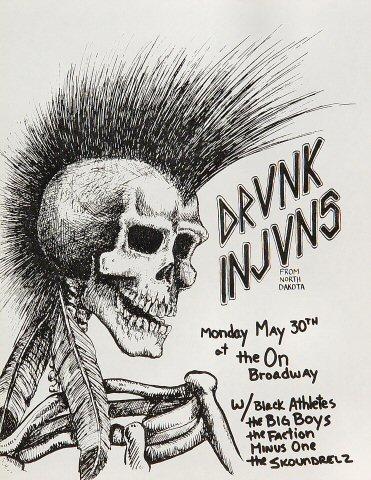 Drunk Injuns Handbill