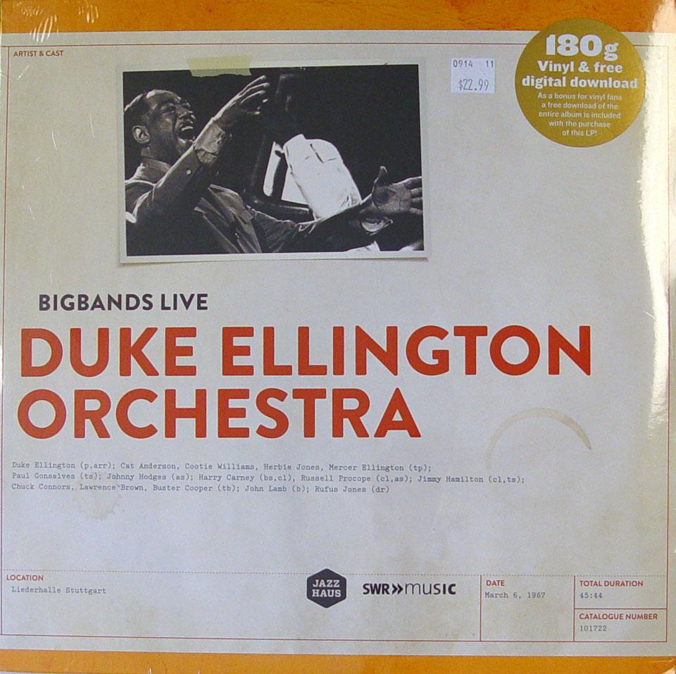 "Duke Ellington Orchestra Vinyl 12"" (New)"