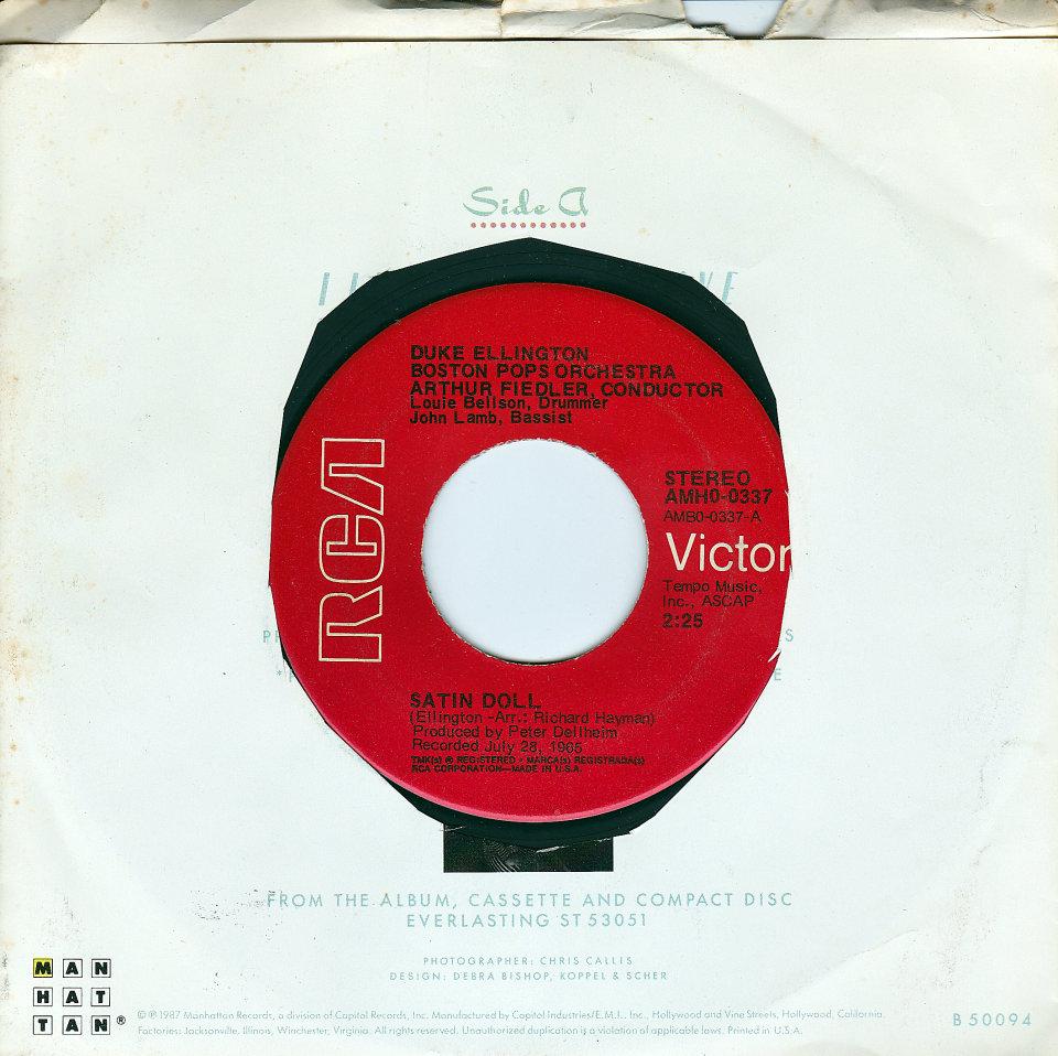 """Duke Ellington Vinyl 7"""" (Used)"""
