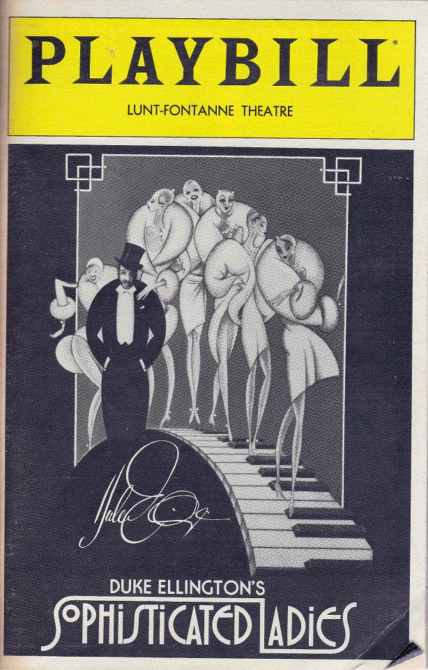 Duke Ellington's Sophisticated Ladies Program
