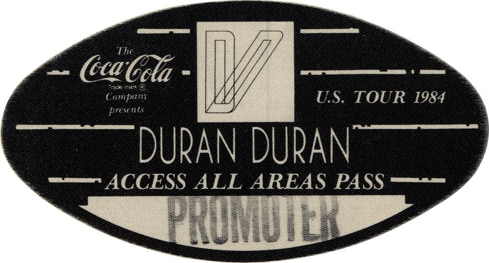 Duran Duran Backstage Pass