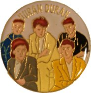 Duran Duran Pin