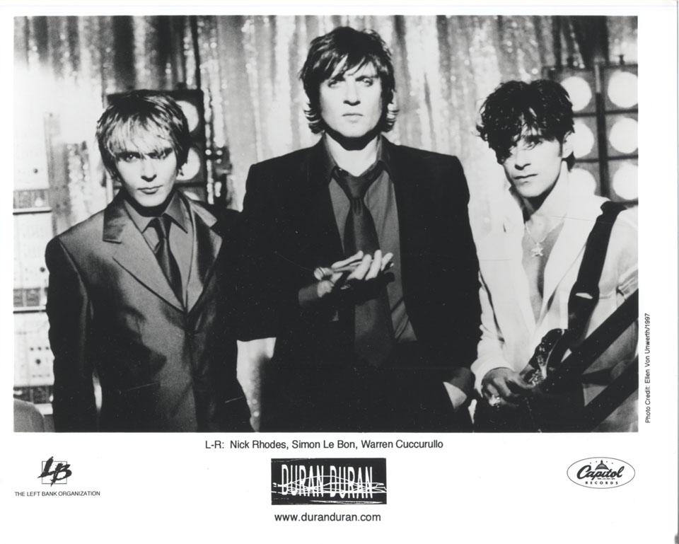 Duran Duran Promo Print