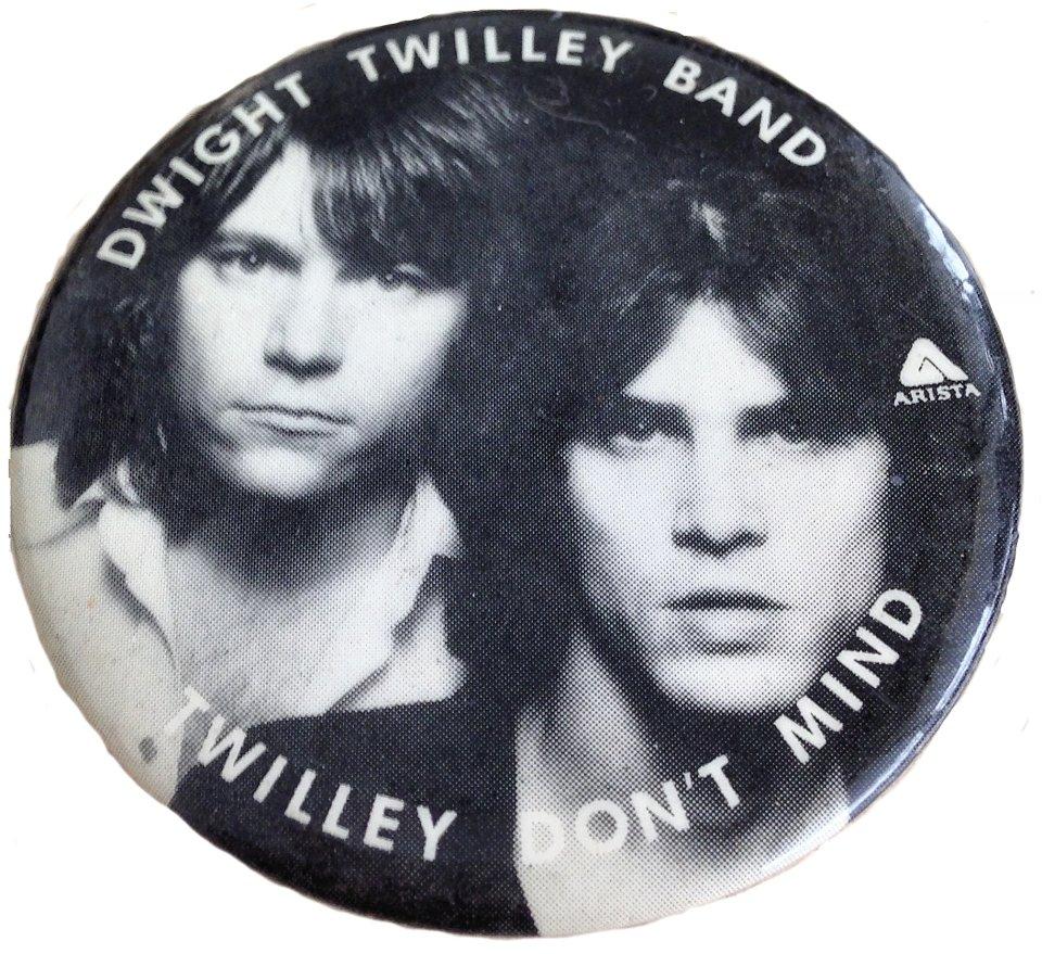 Dwight Twilley Band Pin