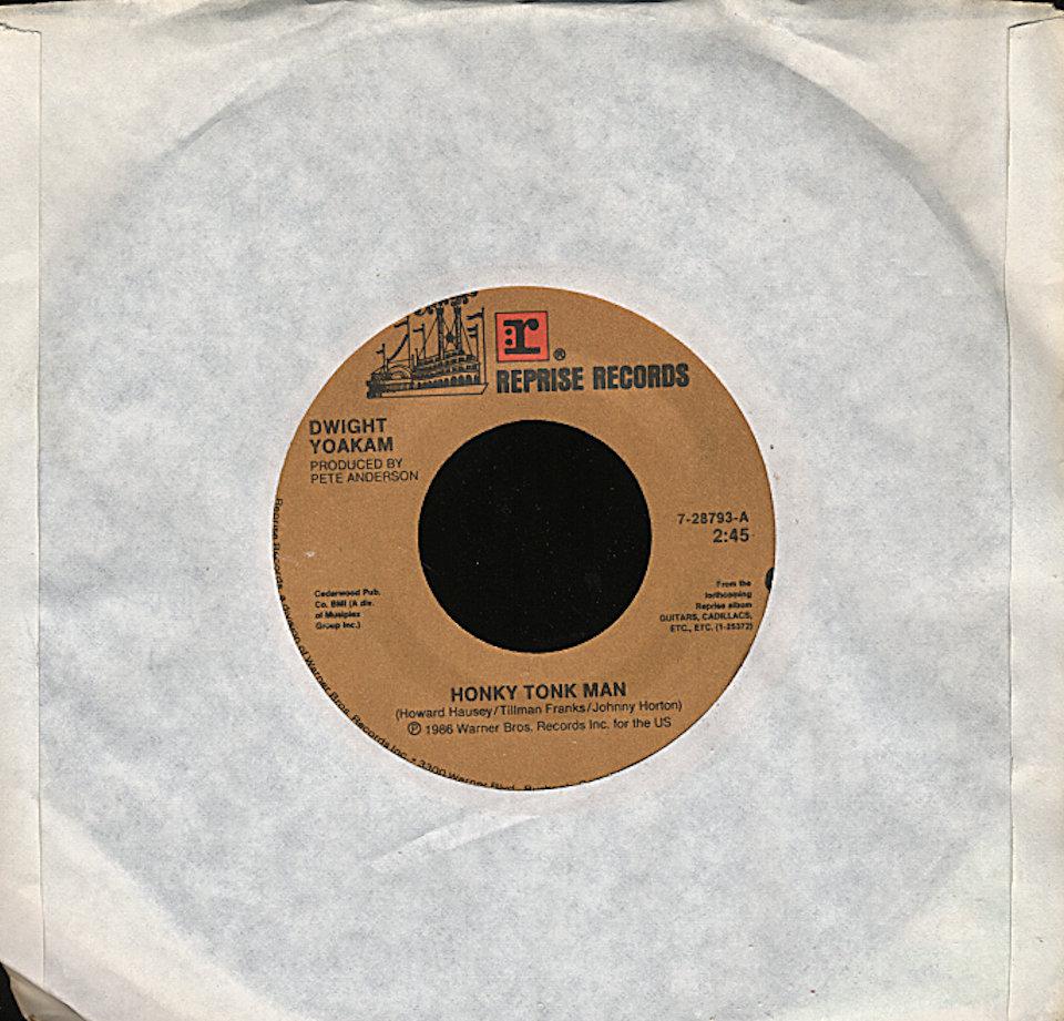 "Dwight Yoakam Vinyl 7"" (Used)"