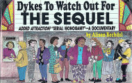 Dykes to Watch Out For: The Sequel Book