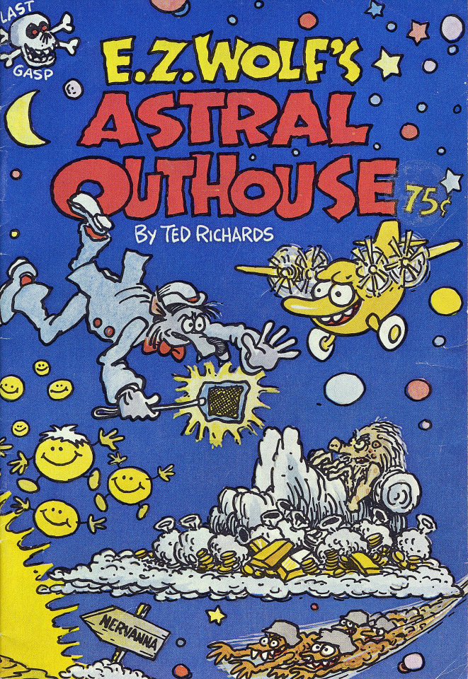 E.Z. Wolf's Astral Outhouse Comic Book