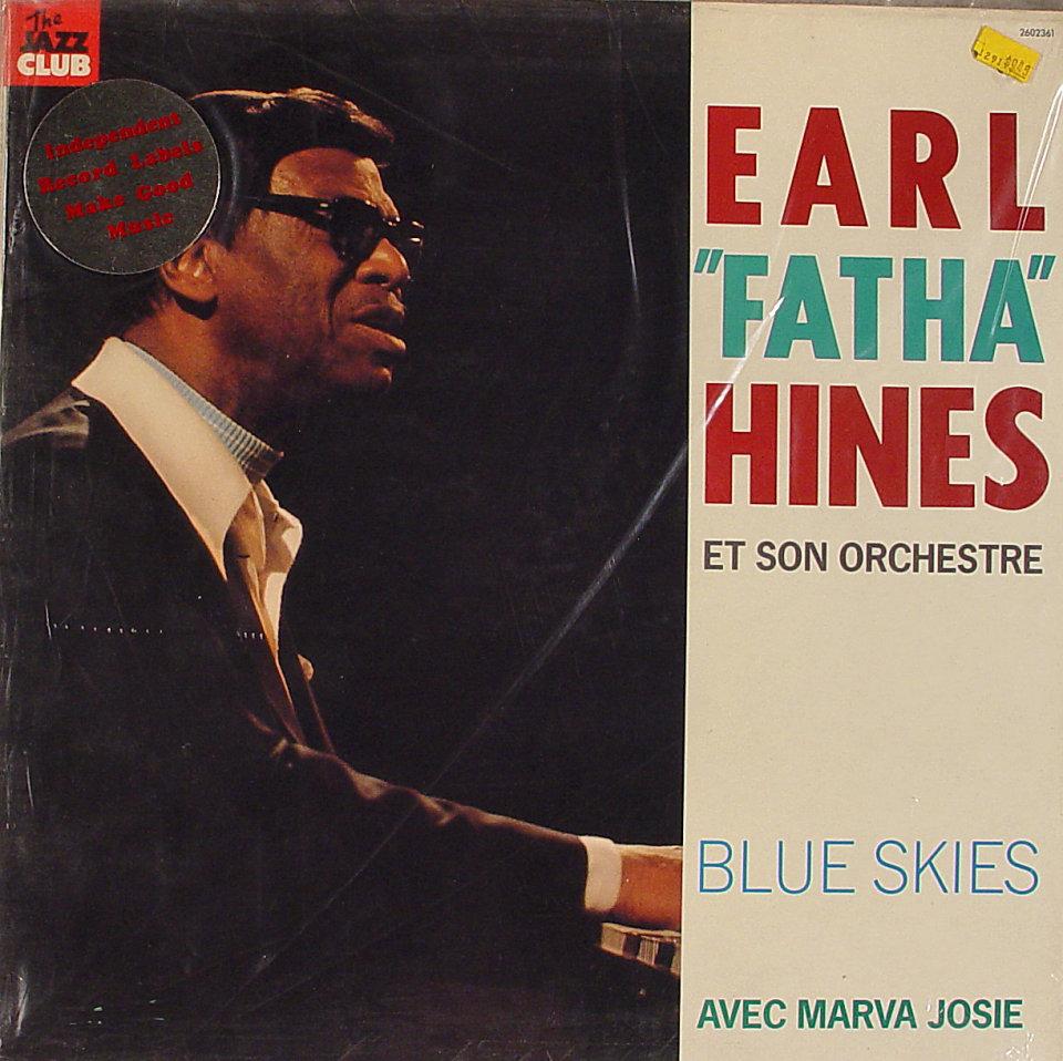 "Earl ""Fatha"" Hines Et Son Orchestre Vinyl 12"" (New)"