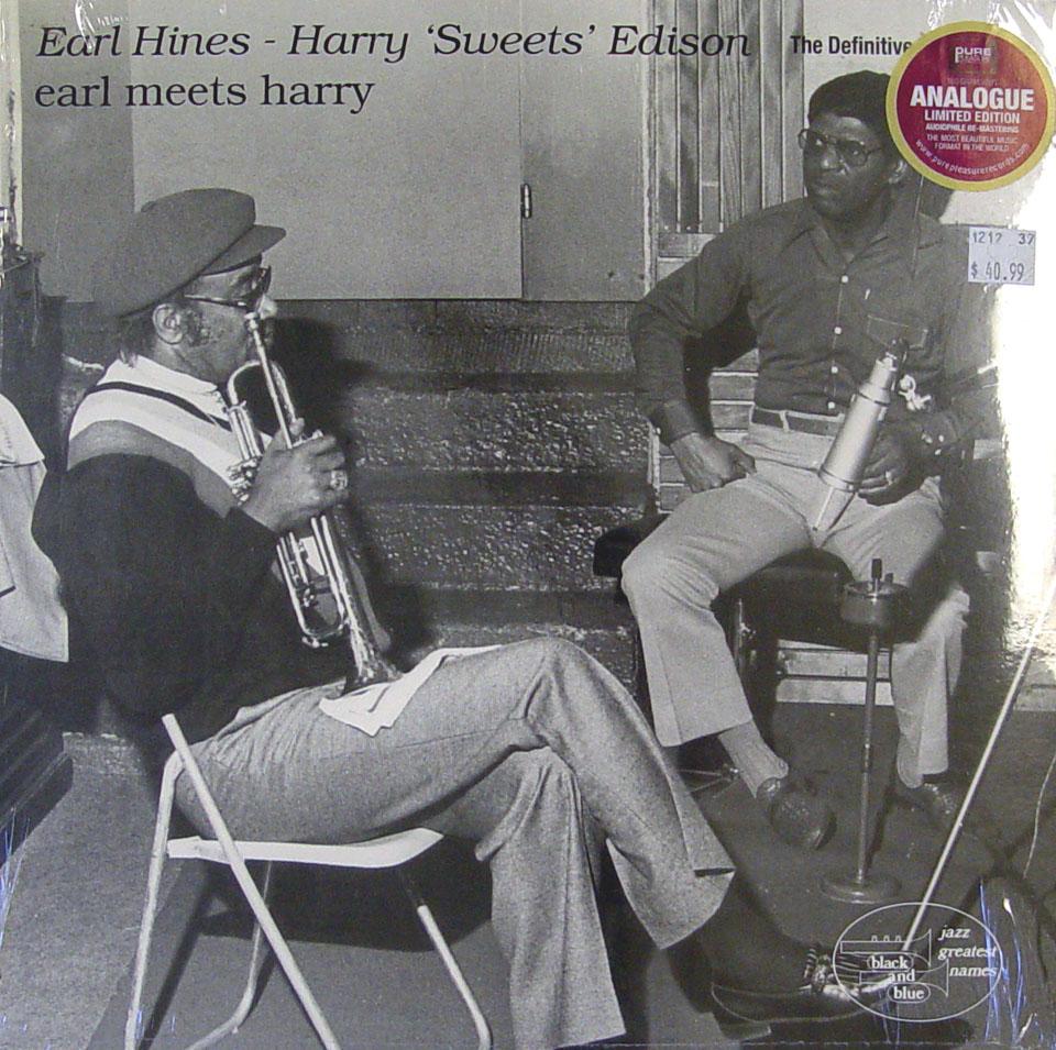 "Earl Hines / Harry ""Sweets"" Edison Vinyl 12"" (New)"