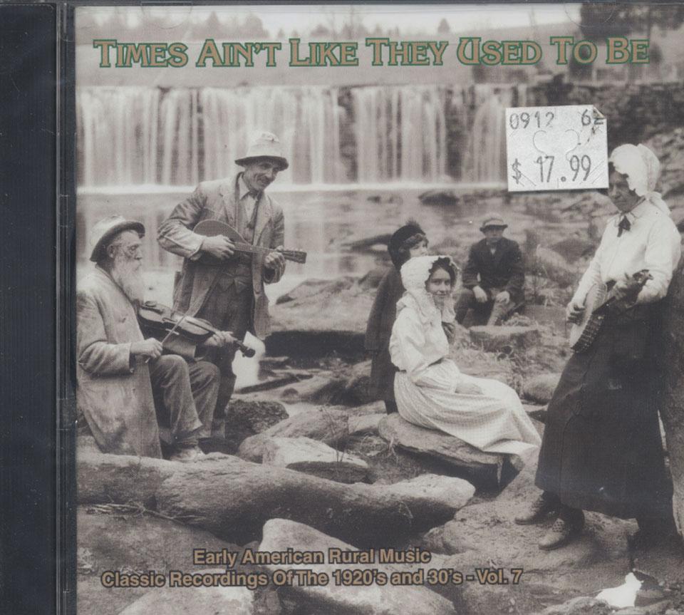 Early American Rural Music CD
