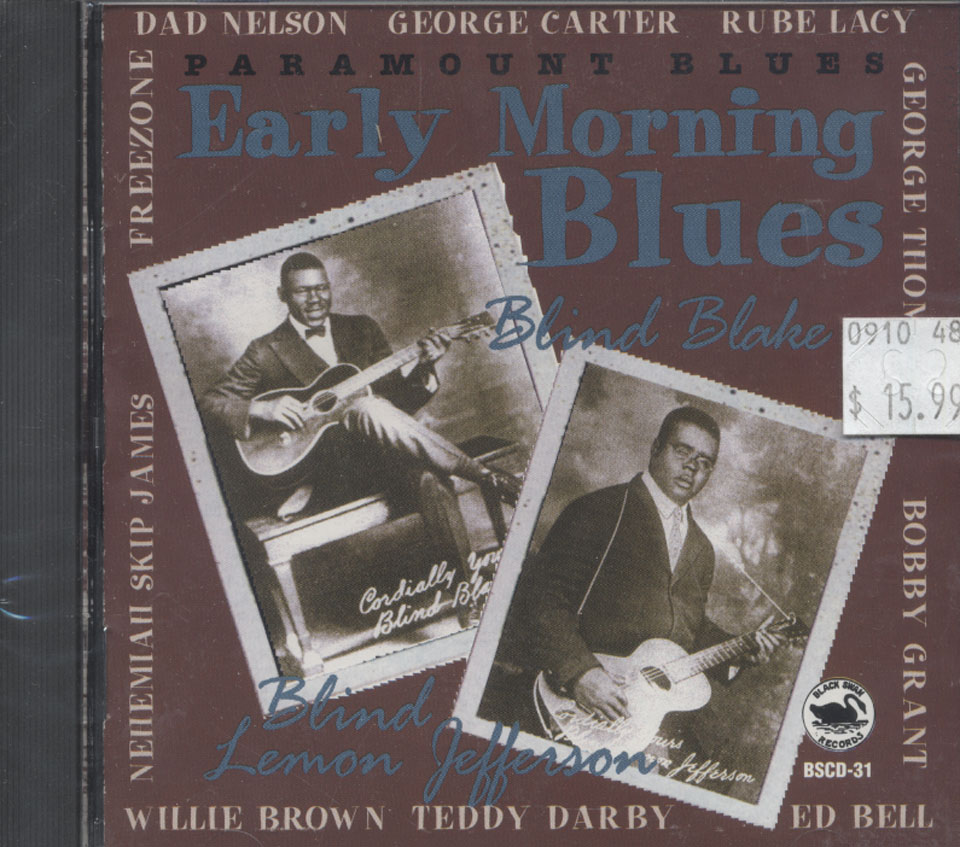 Early Morning Blues CD
