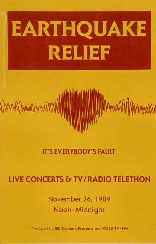 Earthquake Relief Benefit Program