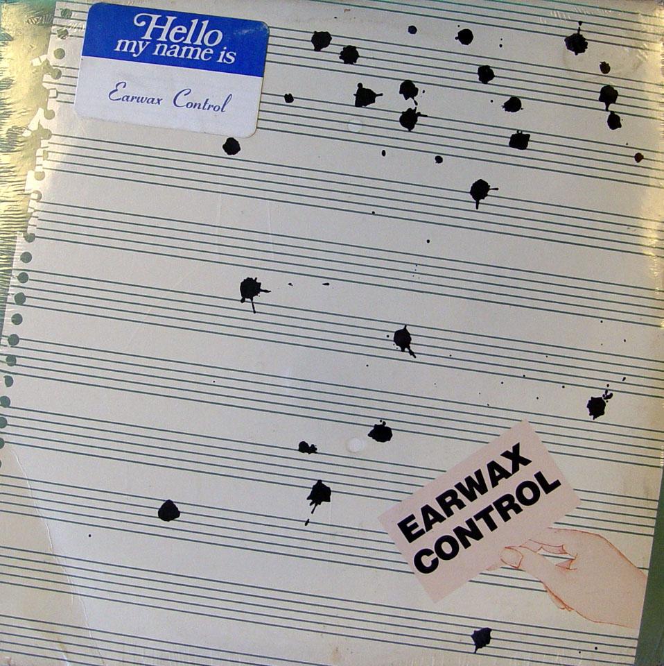 "Earwax Control Vinyl 12"" (New)"