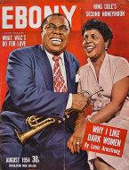 Ebony Aug 1,1954 Magazine